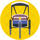 Cycle Rickshaw Icon