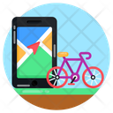 Cycle Route Icon
