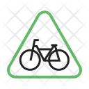 Cycle Stand Traffic Icon