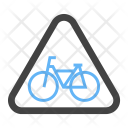 Cycle Stand Sign Icon