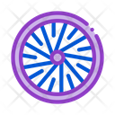 Bicycle Wheel Bike Icon