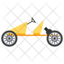 Cyclekart Cycle Car Manual Car Icon