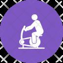 Cycling Human Activitiy Icon