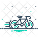 Cycle Race Bicycle Competition Icon