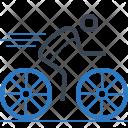 Cycling Race Cyclist Icon