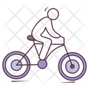 Bicycle Race Cycling Cycle Rider Icon