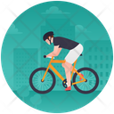 Cycling Physical Exercise Sports Icon