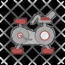 Stationary Bike Gym Icon