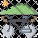 Transportation Bicycle Exercise Icon