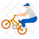 Cycling Bmx Bicycle Icon