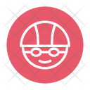 Cycling Cyclist Face Icon