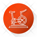 Cycling Exercise Fitness Icon