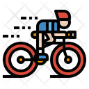 Cycling Hobby Icon