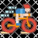 Cycling Bike Sports Icon