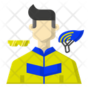 Cycling player Icon