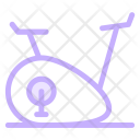 Cycling Weight Lose Icon