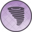 Cyclone Weather Forecast Icon