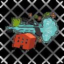 Cyclone Storm Depression Icon