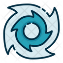 Cyclone Tornado Windstrom Icon