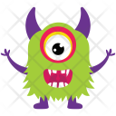 Cyclops Goofy Demon Icon
