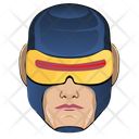 Cyclops Superhero Man Icon