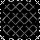 Cylinder Shape Math Icon