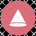 Cylinder Shape Cone Icon