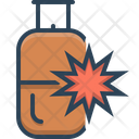 Blaster Explosion Cylinder Icon