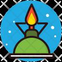 Cylinder Burner Icon