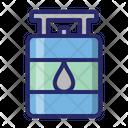 Cylinder gas Icon