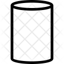 Cylindrical Icon