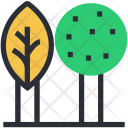 Cypress Tree Greenery Icon