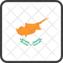 Cyprus European Country Icon