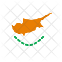Cyprus Flag World Icon