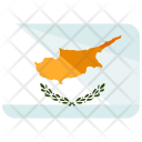 Cyprus Flag Country Icon
