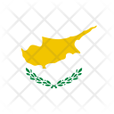 Cyprus Flag World Icon