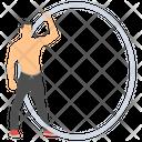 Cyr Wheel Roue Cyr Monowheel Icon