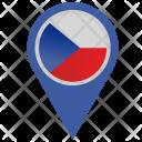 Czech Republic Location Icon