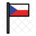 Country Czech Republic Flag Icon
