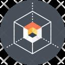 D Box Cube Icon