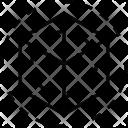 D Cube Design Icon