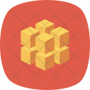 D Block Box Icon