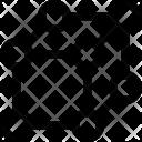 D Square Vector Icon
