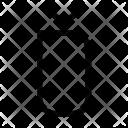 D Alphabet Sign Icon