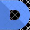 D alphabet Icon