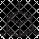 D Cube 3 D Model 3 D Cad Icon