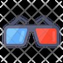 D Glasses 3 D Glasses Vr Goggles Icon