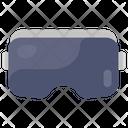 D Goggles Virtual Glasses Cinema Glasses Icon