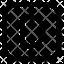 D Letter Alphabet Rudiment Icon