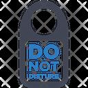 D not disturb Icon